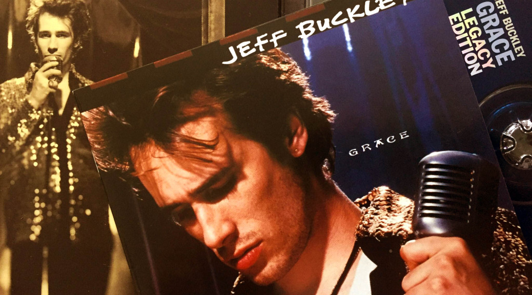 Jeff Buckley Grace CD album sleeve